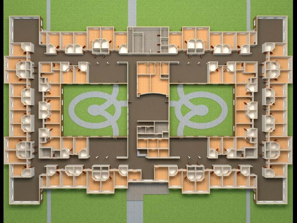 Memory Care Partners Facility Floorplan